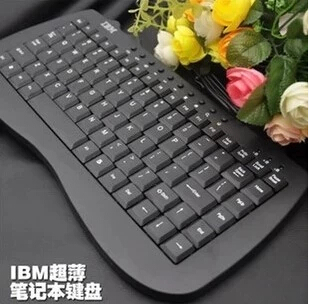 Brand Wired Keyboard Computer Gaming Keyboard Laptop Usb Mini External Keyboards Slim Keypad(China (Mainland))