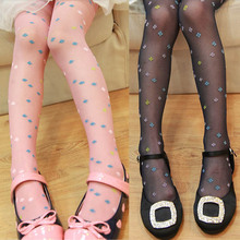Vogue Kids Girls Velvet Candy-Colored Transparent  Stockings Pantyhose Slim Stockings