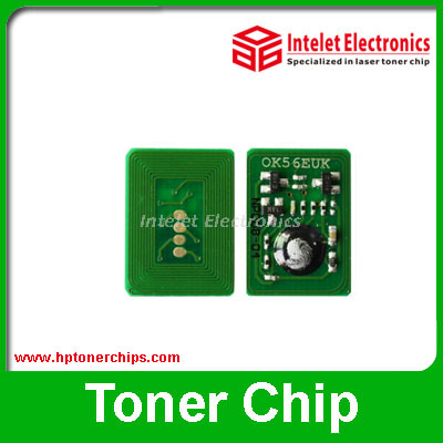 Free shipping by China Post ! Compatible printer chip for ok i c810dn toner reset chip, ok i c810 c830 toner reset chip(China (Mainland))