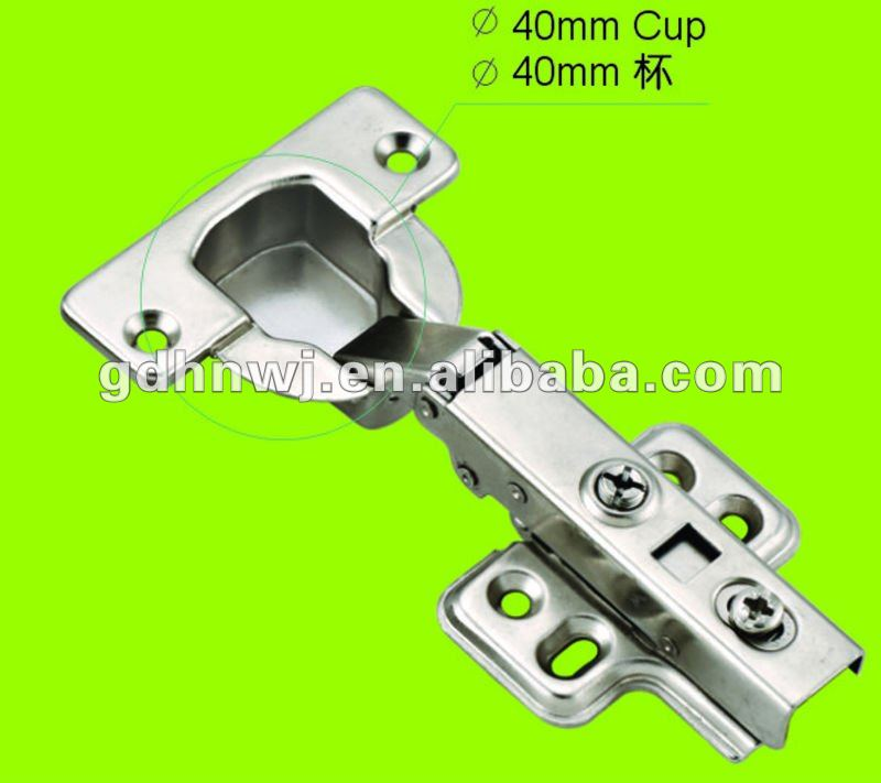 best price and good quality 40mm cup soft closing hydraulic hinge(China (Mainland))