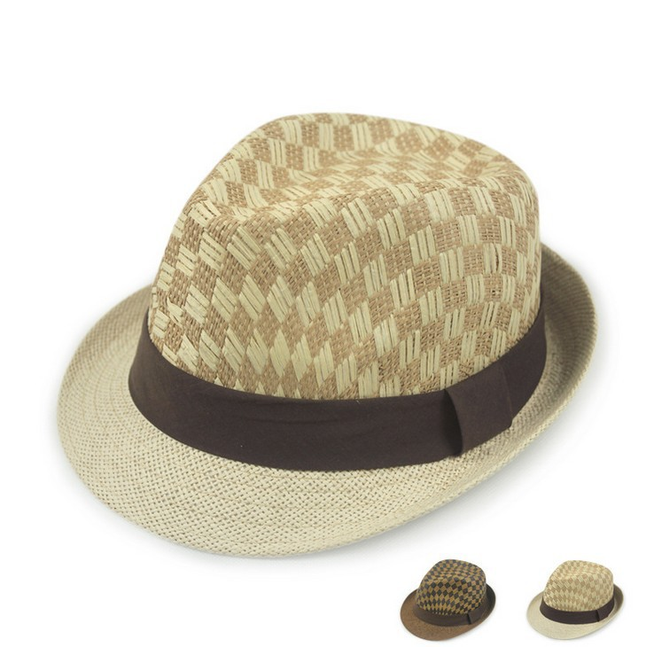 Fashion European style straw stripe sun hat outside summer shade beach hat breathable sunshade cap 2color 1pcs(China (Mainland))