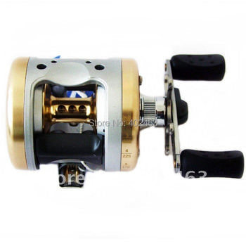 HAIBO HBC3510 Aluminum Alloy  baitcasting fishing reel  Rigid aluminum Spool and frame right hand style