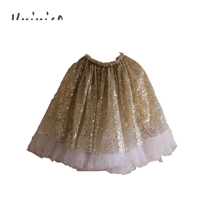 Wholesale 2015 Gold Sequin Skirt Girls Sparkle Silver Tutu Skirts Baby Toddler Long Tulle Skirt Princess Dance Wear Pettiskirt(China (Mainland))