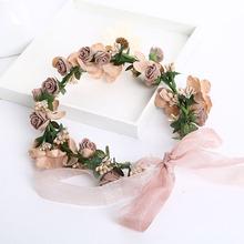 Buy Metting Joura Lanxxy Hot Sale Fashion Wedding Hair Accessories Wreath Tiaras Flower Floral Headband Women Crown Bridal Hairbands for $4.09 in AliExpress store
