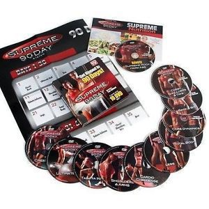 Details about SUPREME 90 day 10 DVD SET - GET INSANE ABS W/ SUPREME WORKOUT/ BRAND NEW AS SEEN ON TV(China (Mainland))