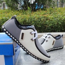 Frühling atmungs doug männer müßiggänger freizeitschuhe erhöht innerhalb wohnungen die British fashion lace up schuhe(China (Mainland))