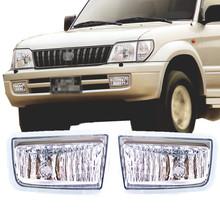 Buy 1999-2002 Toyota Land Cruiser Prado FJ90 95 Series Clear Lens Fog Light Lamp Housing for $69.00 in AliExpress store
