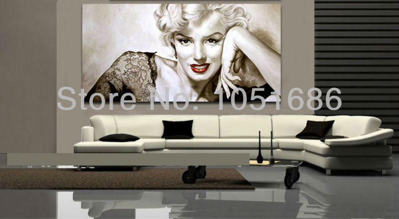Marilyn Monroe Wall Decor Picture Art Modern Abstract
