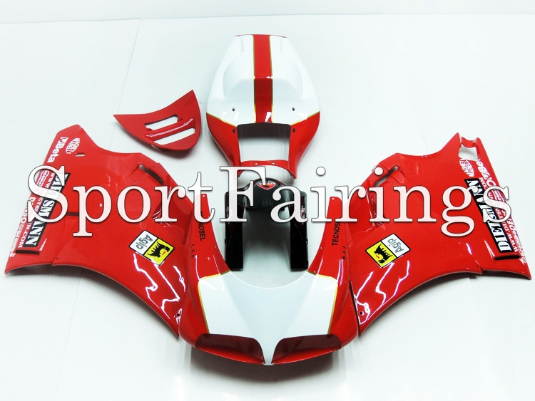 Full Fairings Fit Ducati 996 998 916 748 Year 96 - 02 1996 2000 2001 2002 ABS Motorcycle Fairing Kit Bodywork Red Dietsmann New(China (Mainland))