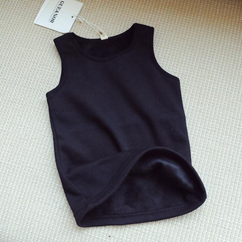 Здесь можно купить  Hu Sunshine wholesale 2015 autumn winter girls solid black vest kids thick Waistcoats  Детские товары
