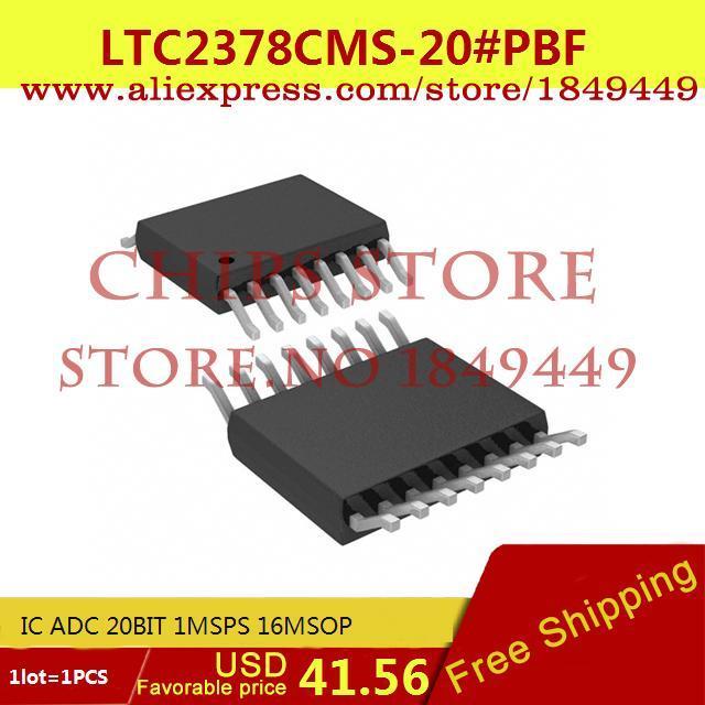 Бесплатная Доставка IC Интегральной Схемы LTC2378CMS-20 # PBF IC АЦП 20BIT 1 MSPS 16 MSOP LTC2378CMS-20 2378 LTC2378 1 ШТ.  ltc2203cuk pbf ic ацп 16 битный 25msps 48 qfn ltc2203cuk 2203 ltc2203 ltc2203c ltc2203cu 2203c