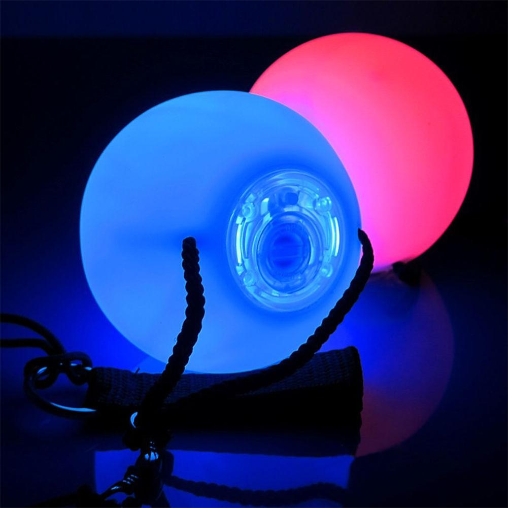 Stage Light Party Lamps 1/2/4PCS Professional Belly Dance RGB LED Bulb Disco Color Change POI Thrown Balls Colorful(China (Mainland))