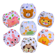 Printed Cartoon Baby Cloth Nappies Washable  Baby Reusable Diapers  Kids Nappies Waterproof  Ajustable  For Childern(China (Mainland))