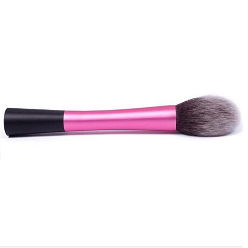 2016 Hot Ssale Charm Kabuki Contour Face Powder Foundation Blush Brush Makeup Cosmetic Tool New Arrivals(China (Mainland))