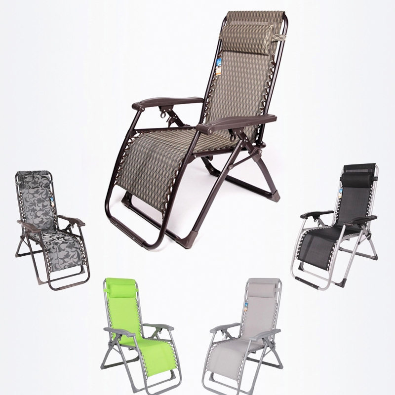 new design best quality zero gravity chair recliners patio pool lounge for home, garden,beach use Folding bed single bed(China (Mainland))