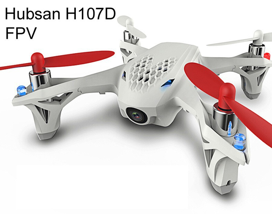 Фотография RC Quadcopter Hubsan H107D  5.8G 4CH 6 Axis RTF HD Camera Real-time Aerial Photography Video X4  (Without a remote control)