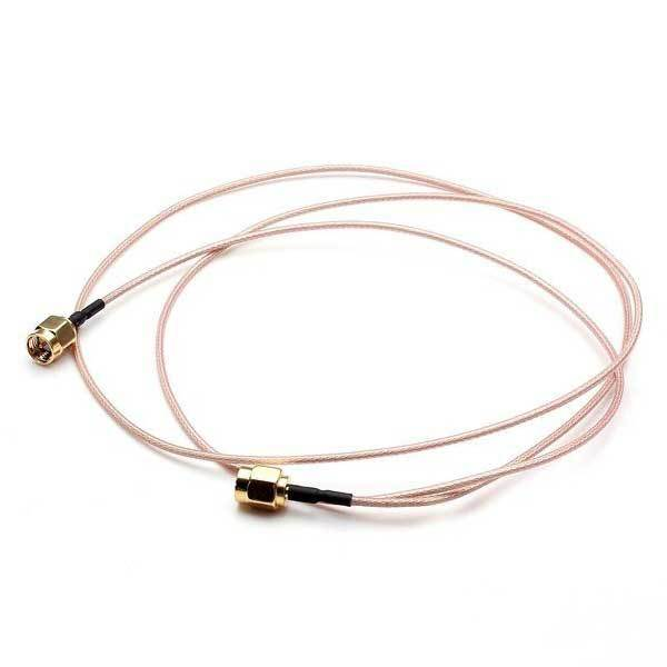 Bandela 100cm Silvering Connecting Line SMA Male To Male Pigtail Coaxial Cable(China (Mainland))