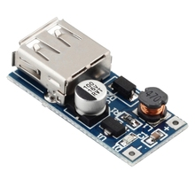 1Pc 0.9V-5V to 5V DC-DC Booster Module USB Mobile Step-up Power Supply Module Hot Worldwide