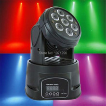 Buy HOT high 7x12w 4in1 LED Lamp Mini Led Moving Head Beam Wash Spot Light Dj Disco Club Party Wedding Stage Effect Lighting for $74.00 in AliExpress store