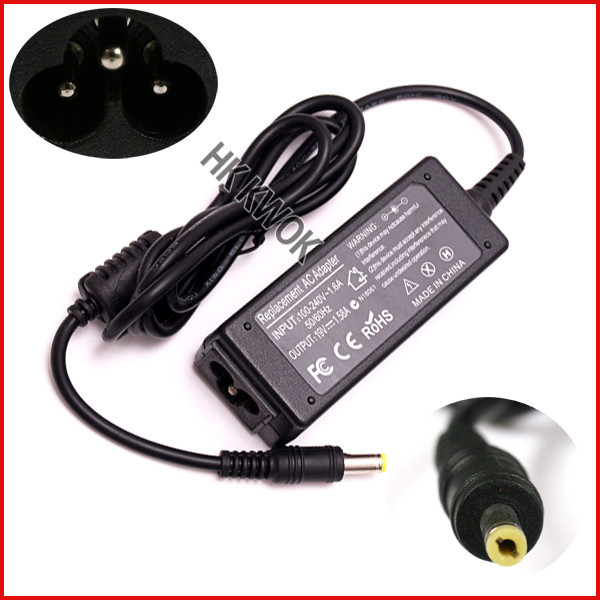 50pcs//lot Laptop Adapte Charger For Toshiba Satellite AC Power Cord  75W 19V