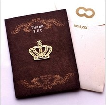 Free shipping/ vintage Crown design Bookmark /18k gold plated metal bookmarks   36pcs/lot(China (Mainland))