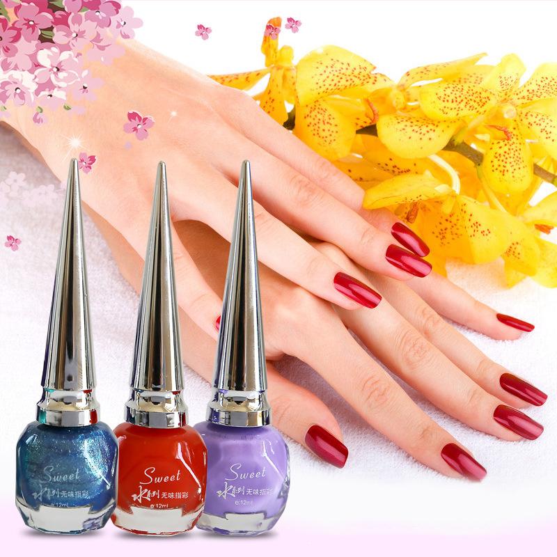 Fashion Health 30 colors optional liquid latex varnish peel off nail polish matte nail polish set cheap nail polishes nail paint(China (Mainland))