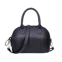 Hot-selling casual women messenger bags ladies fashion handbag import second layer leather shoulder bag vintage shell bag(China (Mainland))