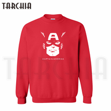 TARCHIA 2016 hoodies sweatshirt personalized men coat casual parental captain face avenger American survetement homme boy