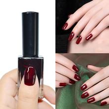 Nail  Polish 15ml Design Dark Red Regular Color Nail Tips Decorations Enamel Varnish  gel nail polish  8227049(China (Mainland))