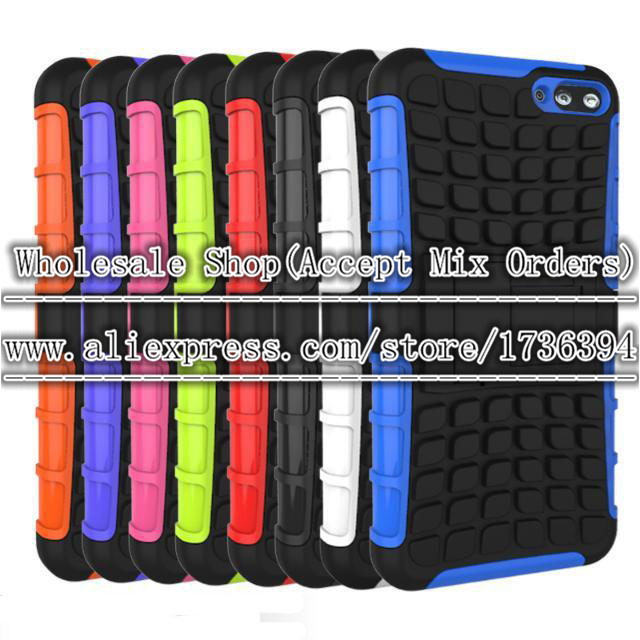 Wholesale 200pcs/lot Heavy Spiderman Duty Durable shockproof TPU PC Robot Hard Stand Cover Case For Amazon Fire Phone(China (Mainland))