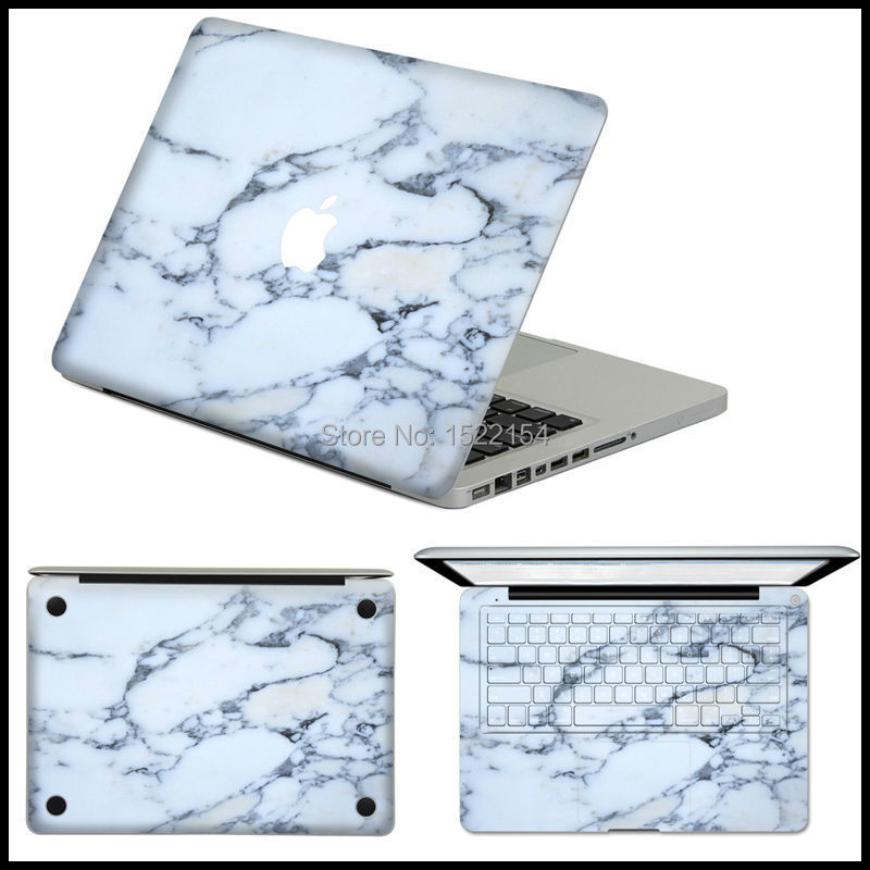 Marble Grain Personality Laptop Sticker Skin For Apple MacBook Air Pro Retina 11 13 15 Decal Mac Case Full Cover Vinyl Pegatina(China (Mainland))