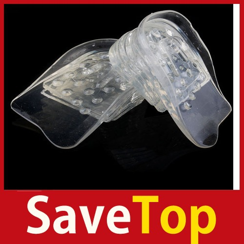 [SaveTop] 1 Pair Silicone Height Increase Insole Heel Shoe Pads(China (Mainland))