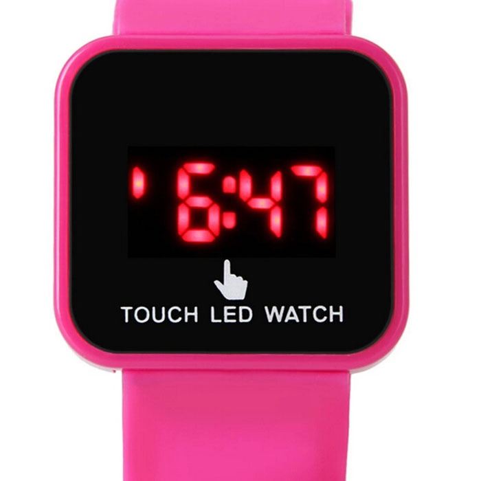 touching led display digital sports watches top