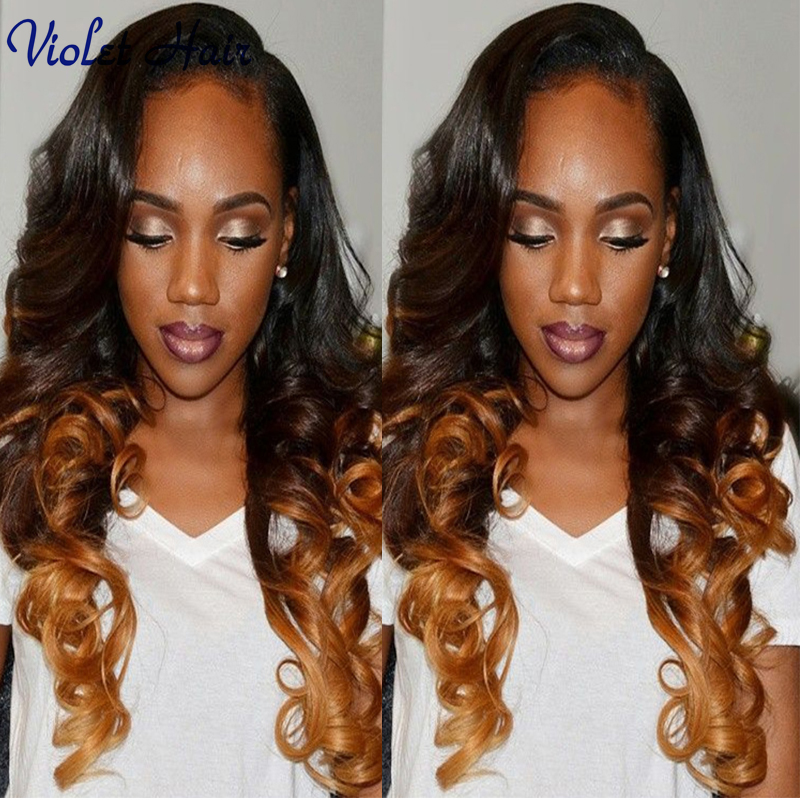 Eurasian Virgin Hair Two Tone T1B/27 Ombre Body Wave Ombre Human Hair Bundles 3 Bundles Deals 100g Perruque Bresilienne Pelucas<br><br>Aliexpress