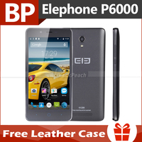 Original Elephone P6000 4G FDD LTE 5 inch HD IPS MTK6732 Quad Core Android 5.0 Mobile Cell Phone 2GB RAM 16GB ROM 13MP GPS BT