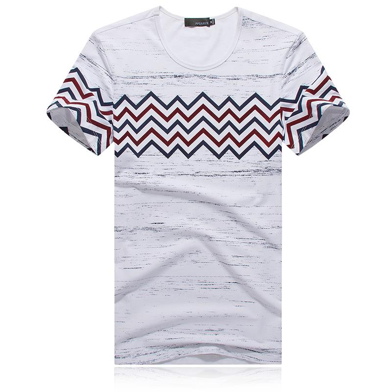 Summer style brand new 2015 men designer t shirts for Luxury t shirt printing