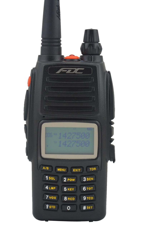FDC FD-890 Plus 10Watt VHF 136-174MHz Professional FM Transceiver walkie talkie 10W 10km(China (Mainland))