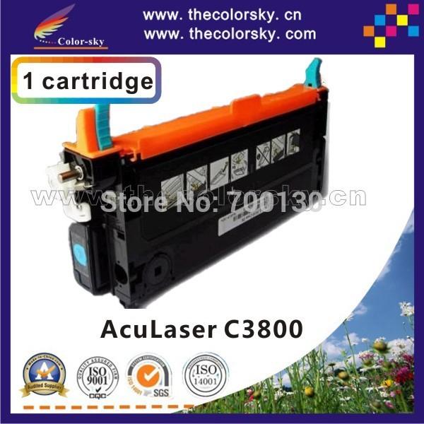 Фотография (TCE-C3800) compatible toner cartridge for EPSON AL C3800 C 3800 C3800N C3800DN C3800DTN C13S051127 - 30 kcmy 9.5k/9k free FedEx