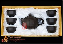 Exquisite gift purple ceramic tea set ch14 ikbal pot zhu ni