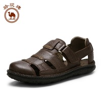 summer outdoor men's sandals breathable and comfortable sandals popular Velcro sandals tide W522309127