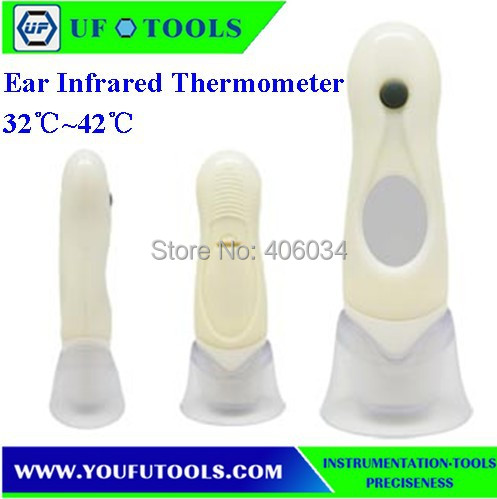 UF-801 Hand-held Portable Home Ear Temperature Infrared /Mini Thermometer 32~42 degre