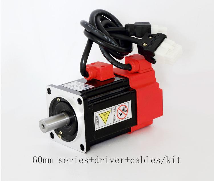 3 Phase Single Phase 400w Ac Servo Gear Motor 220v