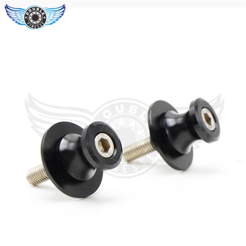 new motorcycle parts Aluminum Swingarm Spools slider 6 colors optional 6mm 8mm 10mm for suzuki GSX1400 GSF650 BANDIT(China (Mainland))
