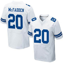 Men's #20 Darren McFadden Elite White Football Jersey 100% stitched(China (Mainland))