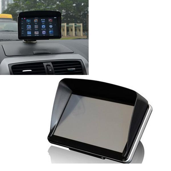 Free shipping GPS NavIgation Accessories 4 3 Inch 5 Inch GPS Universal Sunshade Sunshine Sun Shade