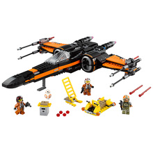 LEPIN Star Wars Poe's X-Wing Fighter Figure toys building blocks set marvel minifigures compatible with legoe