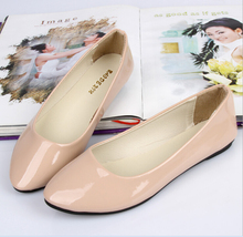 Candy Colors Women's Flats 2016 New Arrival 30 Colors Shoes Women Summer Spring Casual Sport Work Plus Size Females Shoes(China (Mainland))