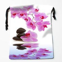 Пользовательские камни и цветок печатных Drawstring получить мешок сжатия тип сумки для хранения пользовательские упаковки подарочные пакеты(Китай)
