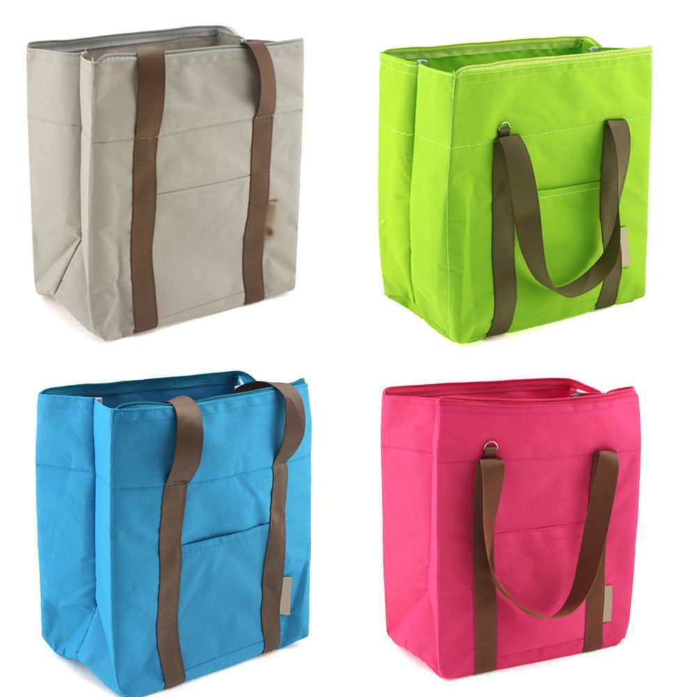 Picnic Lunch Brunch Cool Storage Travelers Large Tote Shoulder Bag 63303 - 63306(China (Mainland))