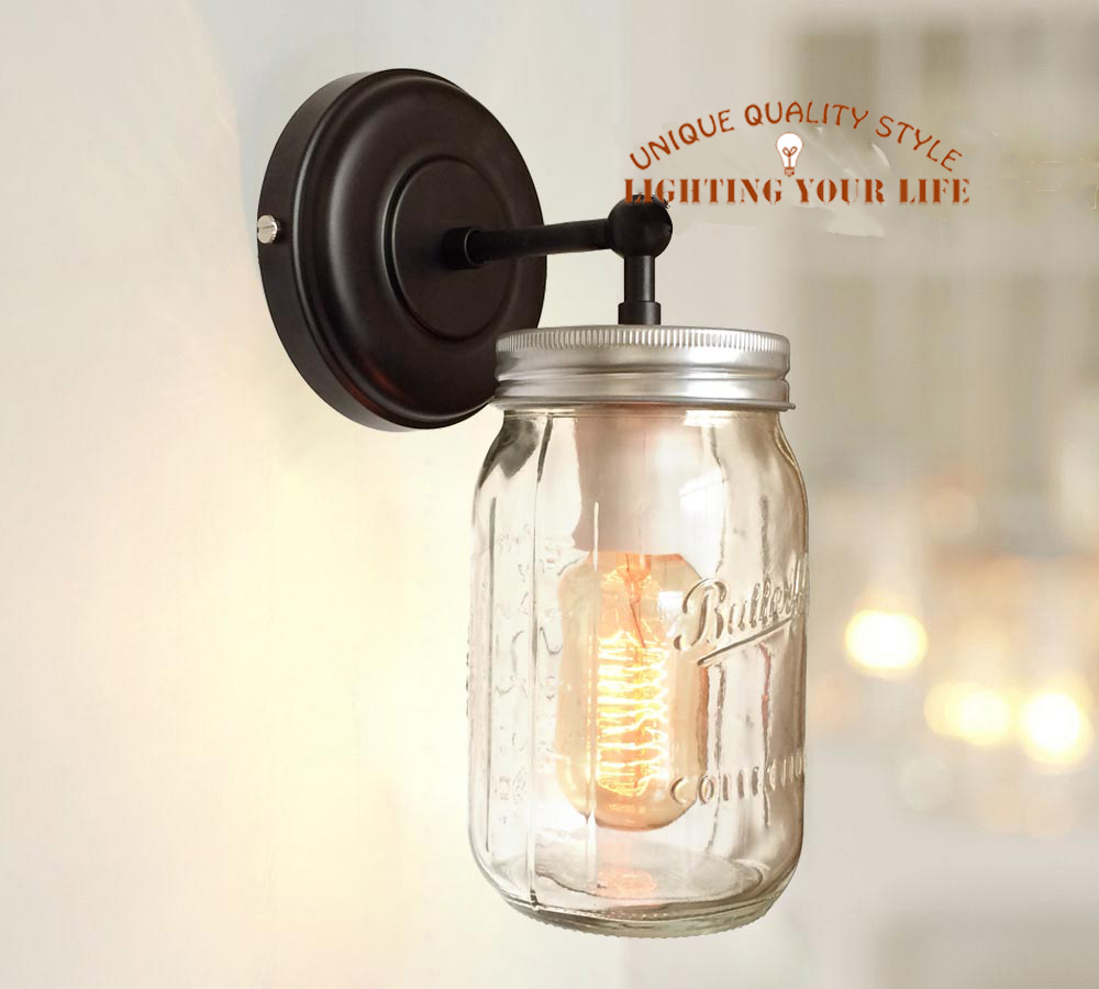 Online Buy Wholesale mason jar lamp from China mason jar lamp Wholesalers Aliexpress.com